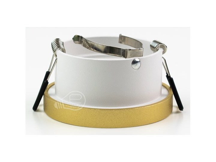 Punktowa oprawa sufitowa wpuszczana LIRA W Gold IP20 okrągła złota, środek biały EDO777324 EDO Oprawa stropowa Okrągłe Oprawa wpuszczana Kolor Złoty