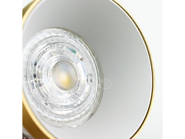 Punktowa oprawa sufitowa wpuszczana LIRA W Gold IP20 okrągła złota, środek biały EDO777324 EDO Oprawa wpuszczana Kolor Złoty Oprawa stropowa Okrągłe Kategoria Oprawy oświetleniowe