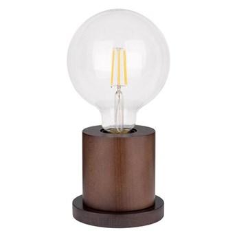 Spot-Light 7392176 - Lampa stołowa TASSE 1xE27/25W/230V buk