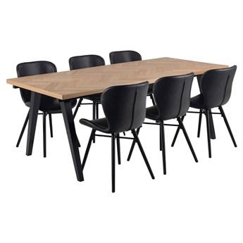 SELSEY Stół do jadalni Venke 200x90 cm