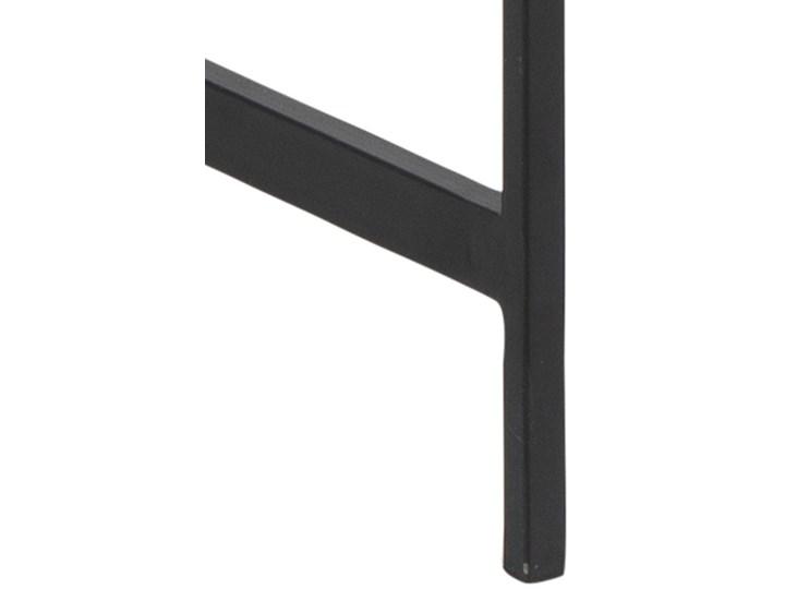 Biurko Angus 110x75 cm czarne Płyta MDF Kolor Czarny Metal Szerokość 110 cm Kategoria Biurka