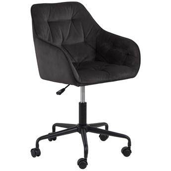 Krzesło biurowe Brooke 59x89 cm brązowo-szare