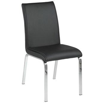Krzesło Leonora 43x92 cm czarne