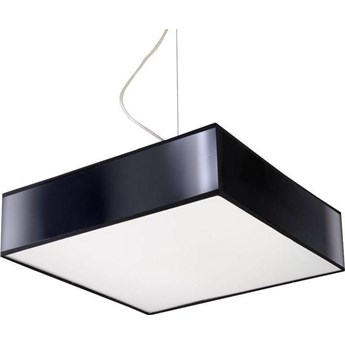 Lampa wisząca Horus 35x80 cm czarna