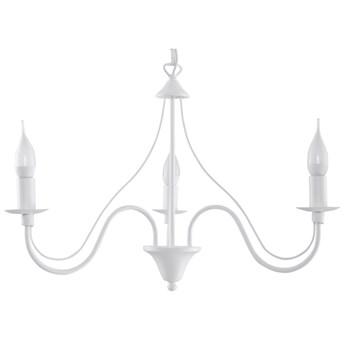 Lampa wisząca Minerwa 60x80 cm 3 L biała