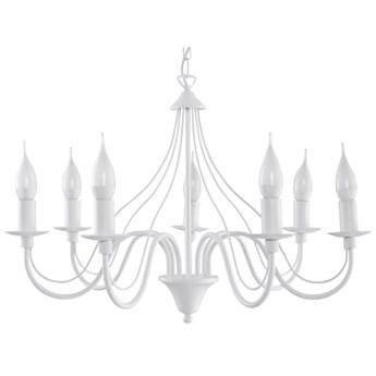 Lampa wisząca Minerwa 60x80 cm 7 L biała