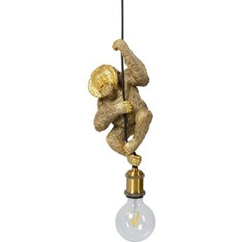 Lampa wisząca Monkey 19x28 cm złota