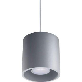 Lampa wisząca Orbis ∅10x80 szara