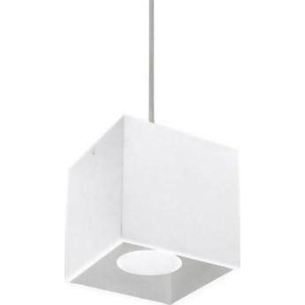 Lampa wisząca Quad 10x80 cm biała