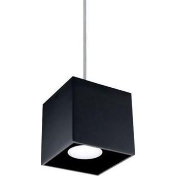 Lampa wisząca Quad 10x80 cm czarna