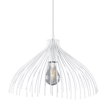Lampa wisząca Umb ∅40x130 cm biała
