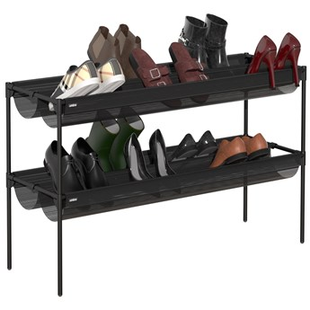 Stojak na buty Shoe Sling 89x64 cm czarny