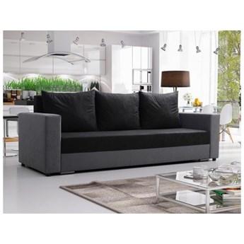 Klasyczna kanapa sofa Mojito czarna