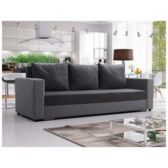 Klasyczna kanapa sofa Mojito szara