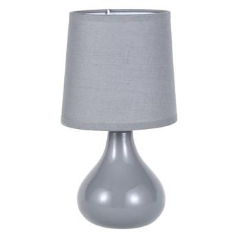 Lampa stołowa dekoracyjna na ceramicznej podstawie Altom Design szara