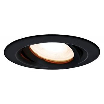 Lagos oczko ruchome czarne IP65 oprawa wpuszczana 1 x 50W GU10 czarna ruchoma minimalistyczna łazienkowa IP65 Light Prestige LP-4425/1RM BK