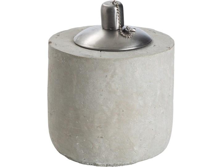 ERNST - Lampa olejna Lampion Metal Kategoria Świeczniki i świece Kolor Beżowy