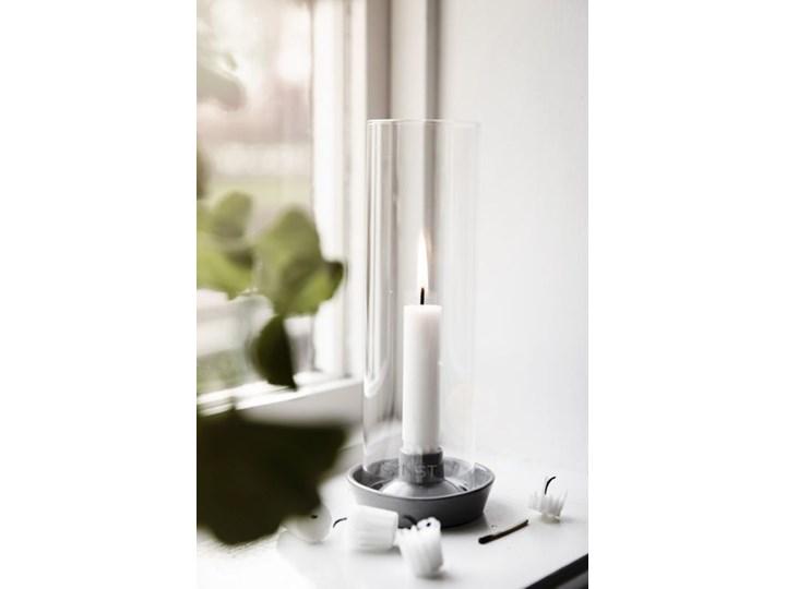 ERNST - Lampion na świecę stołową Ljustake Ceramika Kategoria Świeczniki i świece Szkło Kolor Khaki