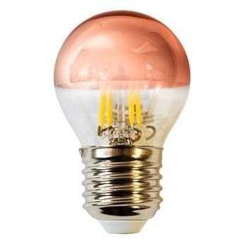 Żarówka filament LED 4W G45 E27 GOLDEN ROSE barwa ciepła 2700K