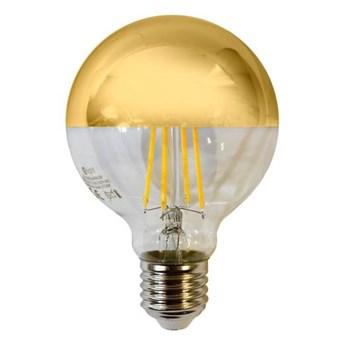 Żarówka Filamentowa LED 5,5W E27 G80 kula GOLD barwa ciepła 2700K EKZF1428