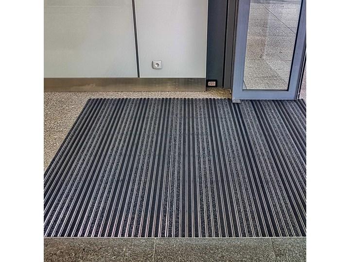 Clean Ryps - Scrub 40 x 60 cm - wycieraczka systemowa Kolor Czarny