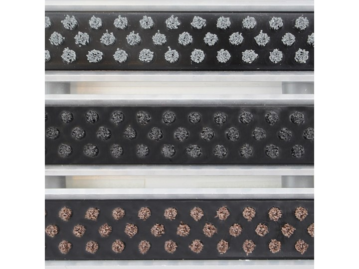 Clean Rubber-Scrub 40 x 60 cm - wycieraczka Kolor Czarny Kategoria Wycieraczki