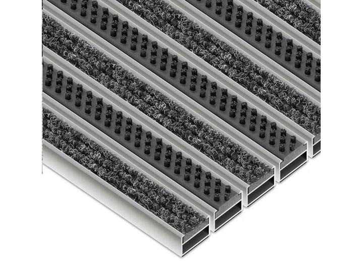 Clean Ryps - Scrub 40 x 60 cm - wycieraczka systemowa Kolor Czarny Kategoria Wycieraczki