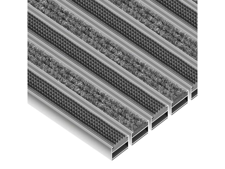 Clean Ryps - Rubber - wycieraczka aluminiowa 12 mm czarny Kategoria Wycieraczki