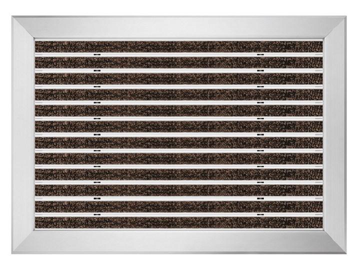 Clean Ryps - wycieraczka aluminiowa z profilem najazdowym 12 mm czarny Kategoria Wycieraczki
