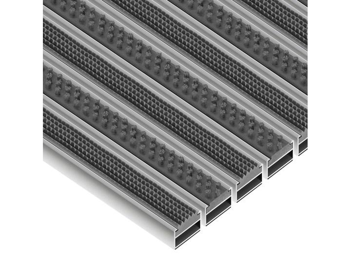 Clean Rubber-Scrub - wycieraczka aluminiowa 12 mm czarny Kategoria Wycieraczki
