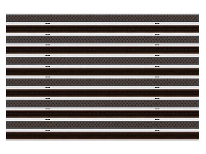 Clean Rubber-Scrub 40 x 60 cm - wycieraczka Kolor Czarny