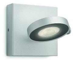 Kinkiet CLOCKWORK LED aluminium 1x4W Philips_DARMOWA DOSTAWA !!!