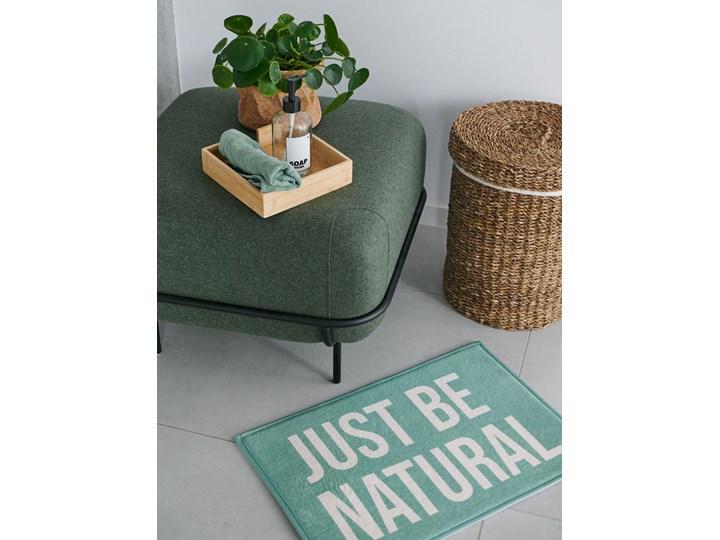 Sinsay - Dywanik łazienkowy - Zielony 40x60 cm Kolor Szary Kategoria Dywaniki łazienkowe