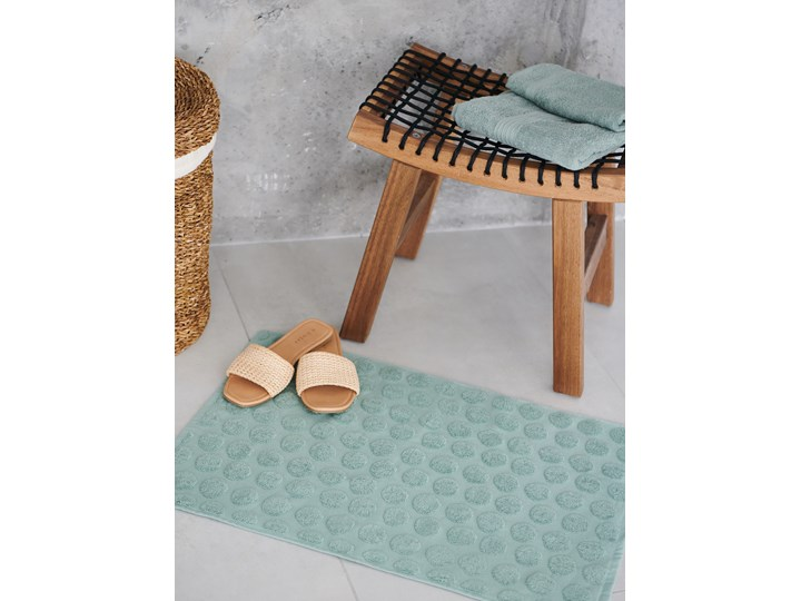 Sinsay - Dywanik łazienkowy 50x70 - Zielony 50x70 cm Kategoria Dywaniki łazienkowe