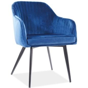 Eleganckie krzesło Elina Velvet