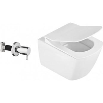 Deante Anemon Zero miska WC z funkcją bidetu CBB 6WPW