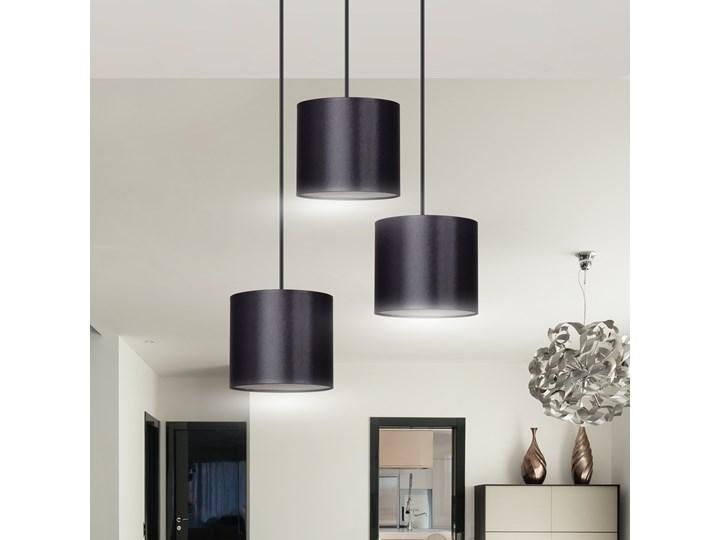 BERYL 3 PREMIUM BL BLACK lampa wisząca abażury różne kolory Metal Lampa z abażurem Funkcje Brak dodatkowych funkcji