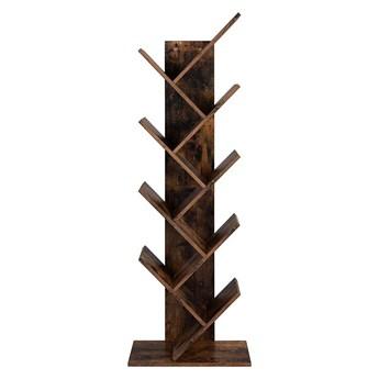 Bettso Regał z półkami w stylu industrialnym / Vintage brown