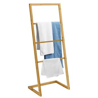 Stojak wieszak MEKONG bambusowy 4 poziomy