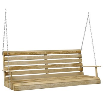 Drewniana huśtawka ogrodowa - Athala