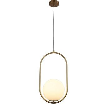 Nowoczesna lampa wisząca biała panari d20, Lumina Deco