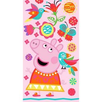 Ręcznik dziecięcy frota 70x140 Świnka Peppa Colorfull, Carbotex