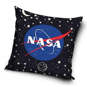 Poduszka dziecięca 40x40 Logo NASA, Carbotex