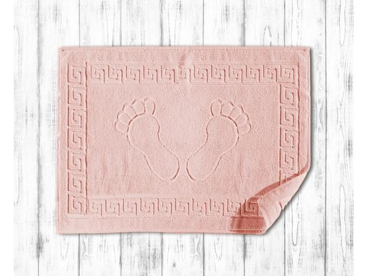 Darymex Dywanik łazienkowy 50x70 Klucz Grecki kolor róż Prostokątny Bawełna 50x70 cm Kategoria Dywaniki łazienkowe
