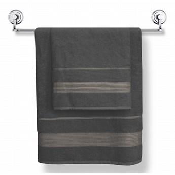 Darymex Ręcznik bamboo Moreno 50x90 kolor grafit
