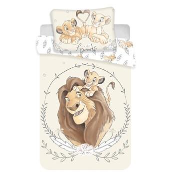 Pościel bawełniana do łóżeczka 100x135 Król Lew Disney, Jerry Fabrics
