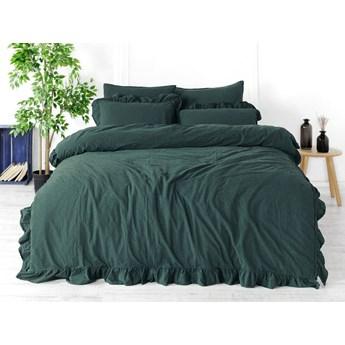 Limasso Pościel bawełniana 160x200 Exclusive, Dark Green