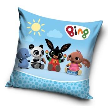 Poduszka dziecięca 40x40 Bing Blue, Carbotex