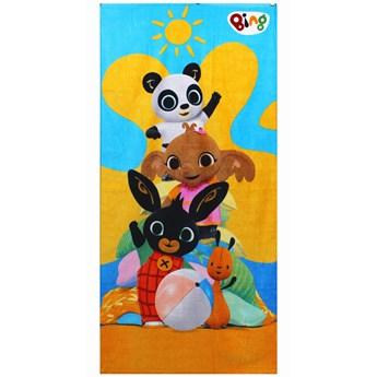 Ręcznik dziecięcy frota 70x140 Bing i Przyjaciele, Setino