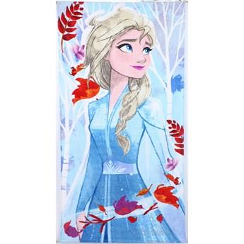 Ręcznik dziecięcy frota 70x140 Frozen Elsa, Setino